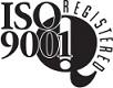 ISO 9001 registered, ISO 9001