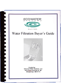 Water filtration buyer's guide
